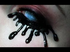 DIY Lashes: Black Tears