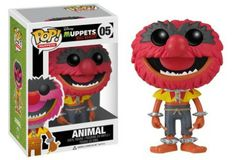 Funko's Muppets; Most Wanted Pop Vinyls - Animal