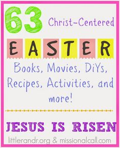 The Ultimate Christ-Centered Easter Roundup!
