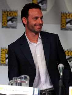 "Andrew Lincoln (Rick Grimes on ""The Walking Dead"") #TheWalkingDead #RickGrimes"