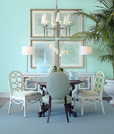 "Benjamin Moore Color ""dolphin cove""....reminds me of the beach. I can almost taste the saltwater! by haley"