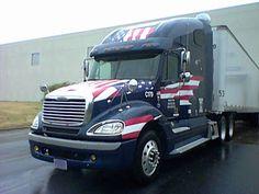 Trucking Spotlight - Red, White, & Blue