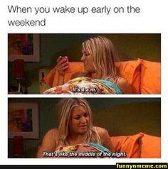 Penny from TBBT the big bang theory Big Bang Theory, You Wake Up, How To Wake Up Early, The Big Bang Therory, Funny Quotes, Funny Memes, Jokes, Memes Humor, Movie Quotes