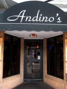 Andino's restaurant, Providence, RI.  Small intimate restaurant that managed to take on 50 people for dinner on bus trip and serve great food!!!
