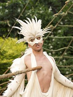 Image © Manuel Harlan 2009 Open Air Theater, Mythical Birds, Feather Mask, Crows, Theatre, Park, Image, Animals, Fictional Characters