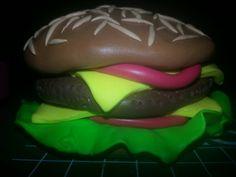 Fimo burger