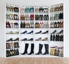 ein Traum für Schuhe :) @Jessie Schuh-speicher