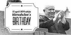 Leader of the Soviet Union. Khrushchev is probably the least criticized leader of the Soviet Union. Soviet Union, History Pics, Happy Birthday, Random, Happy Brithday, Urari La Multi Ani, Happy Birthday Funny, Casual, Happy Birth
