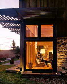 Wilson Mountain Residence by Poss Architecture