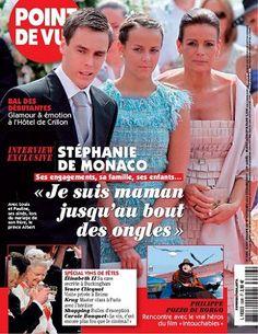 """Stéphanie de Monaco : """"je suis maman jusqu'au bout des ongles"""" -  Point de Vue - Numéro 3306"""