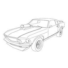 244 best car coloring pages images car drawings cars coloring 1967 GTO Restomod mustang car cars coloring pages free adult coloring pages coloring books mustang cars