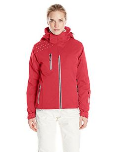 Nils Womens Eleanore Jacket Red 8 -- You can find out more details at the link of the image. (This is an affiliate link)