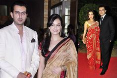 Revealing The Love Story Of Dia Mirza And Sahil Sangha That Turned Into A Fairytale Wedding - BollywoodShaadis.com