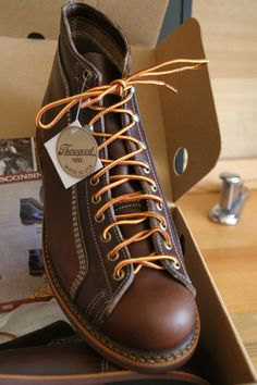 thorogood-Portage-Roofer-Boots- I have a pair of these and they're great and built to last a lifetime.