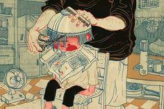 今天蘋果首頁 被這個畫年畫的90後中國姑娘佔據了 - 楓林網 Maplestage