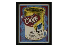 Obey Shepard Fairey. #shepardfairey http://www.widewalls.ch/widewalls-collection-shepard-fairey-prints/