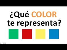 Test de PERSONALIDAD: ¿Qué color te representa? (psicologia) - YouTube