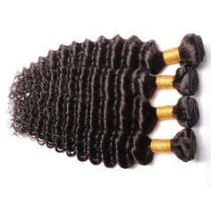Tangle Free 100% Virgin Malaysian Deep Wave Hair.  #malaysianhair #deepwave wet and wavy hair.