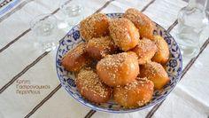 Greek Desserts, Confectionery, Pretzel Bites, Truffles, Sweet Recipes, Food And Drink, Bread, Vegan, Amazing