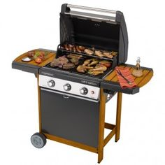 Barbecue à gaz 3 feux Campingaz Othello Woody 3 L