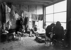 Drancy, France, Jewish women in a waiting room, 1942.