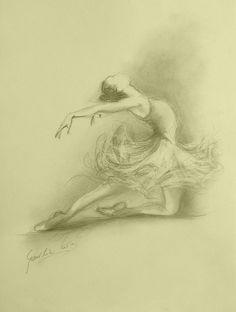 ORIGINAL pencil drawing by Ewa Gawlik