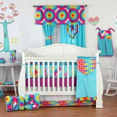 One Grace Place Terrific Tie Dye baby crib bedding sets, along with One Grace Place Terrific Tie Dye baby crib bedding accessories, are available at Baby SuperMall with low prices and more pictures than any other retailer.