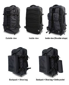 THE FIRST EVER BACKPACK THAT HAS SPACE FOR EVERYTHING YOU NEED TO BRING ON THE ROAD. GET YOURS NOW!