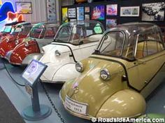 Bruce Weiner's Microcar Museum in Madison, Georgia - I have to go!