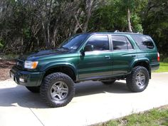 pictures of Green 4runners with painted rims - Page 3 - Toyota 4Runner Forum - Largest 4Runner Forum