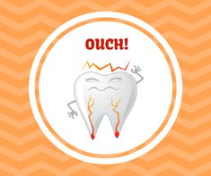 You need to come in as soon as you start to feel any discomfort. Healthy Teeth, Dental, Feelings, Teeth, Dentist Clinic, Tooth, Dental Health