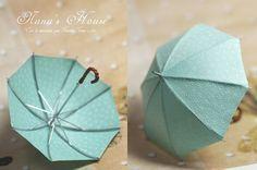 Adorable miniature umbrella!