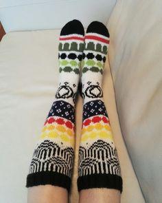 Marimekkosukat. Marisukat. My own pattern. Marimekko.