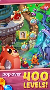 Be ready to POP colorful bubbles in this FREE puzzle game that is the cat's pajamas!