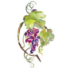 grape vine tattoos | Grapes 01 Grape Jelly With Fox