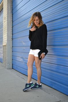 kickin' it #newbalance #sneakers #sneakerstyle