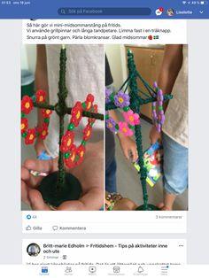 Crochet Necklace, Mini, Jewelry, Threading, Jewlery, Jewerly, Schmuck, Jewels, Jewelery