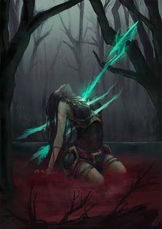 Kallista - League of Legends artwork