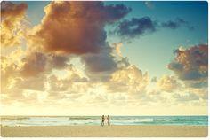 glorious times - Tamarama today 6:50am - two dudes & some cool clouds #beautiful #clouds #beach via @Aquabumps