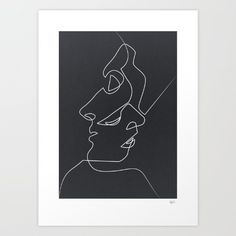 Decorate your walls with slightly abstract and visually striking art prints. | 17 Ways To Trick People Into Thinking You're Cool