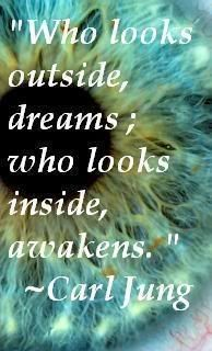 """INFJ introverts """"Who looks outside dreams; who looks inside awakens"""" - Carl Jung✅ I Choose Life, Know Thyself, Let It Flow, Infj Personality, Say More, Carl Jung, Introvert, True Stories, Positive Vibes"""