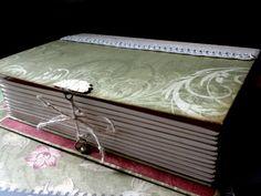 "Book Box for ""Sisters"" Mini-Album closed... - Scrapbook.com"