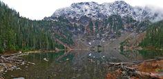 First view of Lake 22, WA  12/13/14