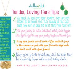 Jewelry Care || Cleaning and Storage Tips on Pinterest ...