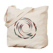 Colourful Twirl Tote Bag