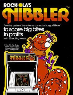 Arcade Nibbler Game