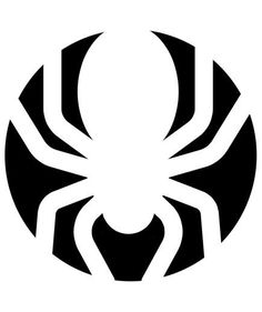 Spider Pumpkin Carving Stencil | These stencil designs will help you carve the coolest jack-o-lanterns on the block, minimal effort required.