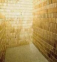 The United States Bullion Depository, commonly called Fort Knox, is a fortified vault building located near Fort Knox, Kentucky which is used. Gold Bullion Bars, Silver Bullion, Gold Everything, Money Stacks, Bling Bling, Gold Money, Shades Of Gold, Gold Walls, Cool Pictures