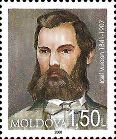 Iosif Vulcan - Publisher of Mihai Eminescu Postage Stamps, Countries, World, Gallery, Fictional Characters, Collection, Seals, The World, Stamps