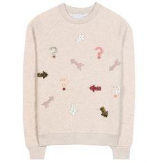 STELLA MCCARTNEY Cotton and wool-blend sweater